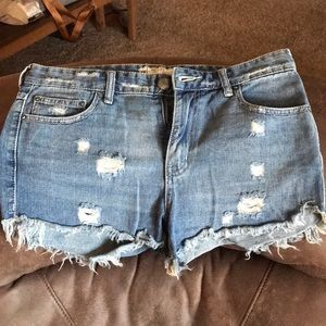 Free people cut offs